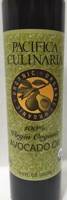 Pacifica Culinaria 100% Virgin Organic Avocado Oil