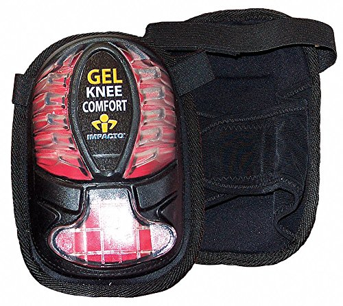 Knee Pads, Black/Red, Universal ()