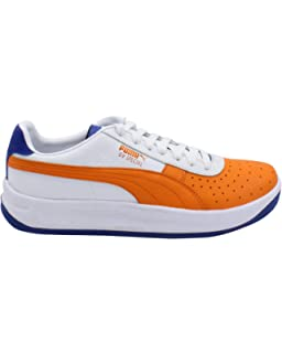 PUMA Mens GV Special Sneaker White Orange Blue e6780d9df