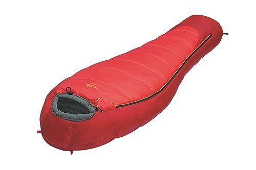 ALEXIKA Schlafsack Nord, rechte Reißverschluss Saco de Dormir con Cremallera Derecha, Unisex, Rojo: Amazon.es: Zapatos y complementos