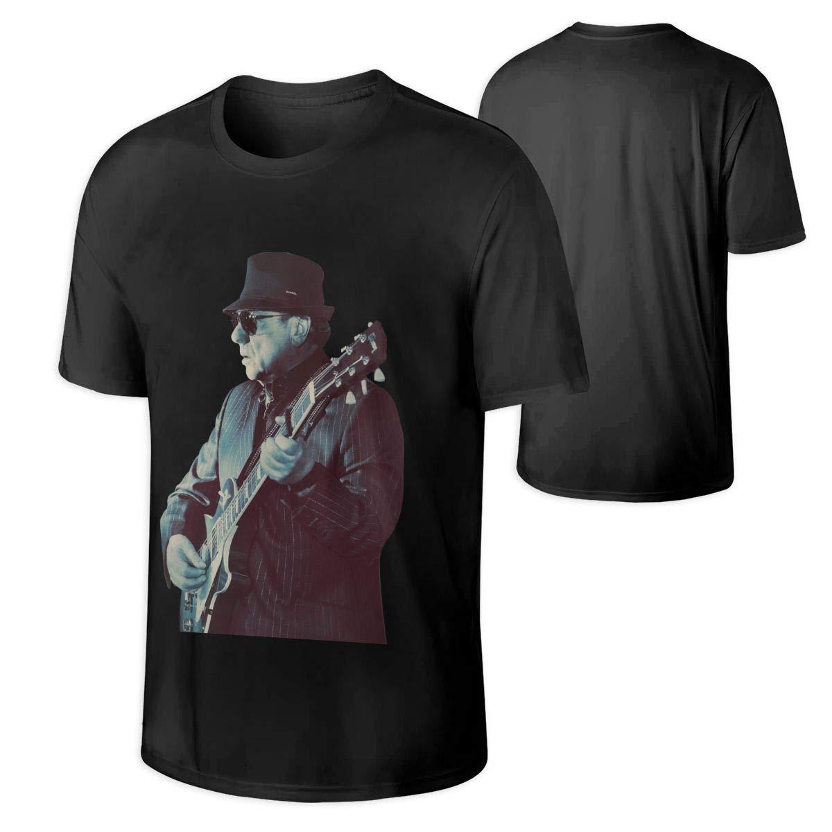 Van Morrison S Black Graphic Tshirt Tee