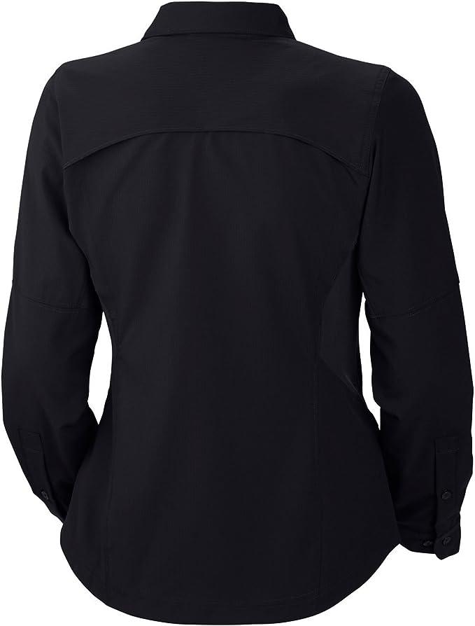 Columbia Island Press - Camisa de Senderismo para Mujer, tamaño FR: S (Talla Fabricante: S), Color Negro: Amazon.es: Ropa y accesorios