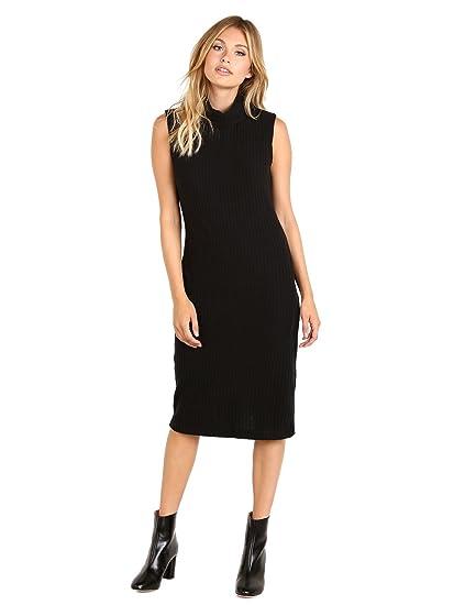 Bella Luxx Push Rib Dress Black At Amazon Womens Clothing Store