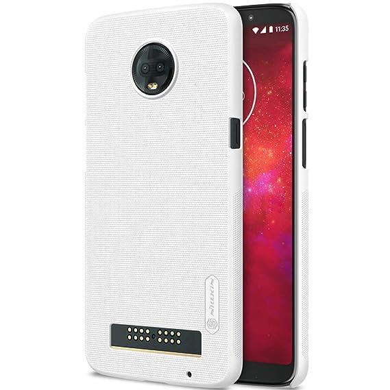 new concept d7e31 d22e7 Amazon.com: Moto Z3 Case,Moto Z3 Play Phone Case Nillkin Ultra Thin ...