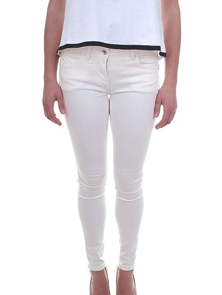 low priced dc00f d8256 PATRIZIA PEPE Pantalone Donna BJ1186-AS04 Nero: Amazon.it ...