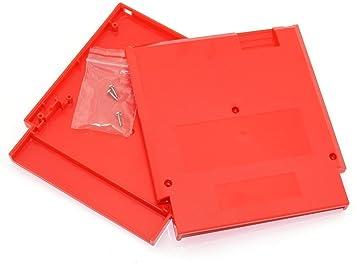 Rojo carcasa de Juego láser 72 pines 8 bit tarjeta, diseño ...