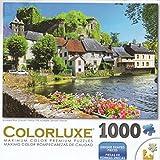 George Colorluxe 1000 Piece Puzzle - Auvezere River, Limousin, France