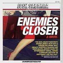 Enemies Closer Audiobook by Josh Sabarra Narrated by Rachel Fulginiti