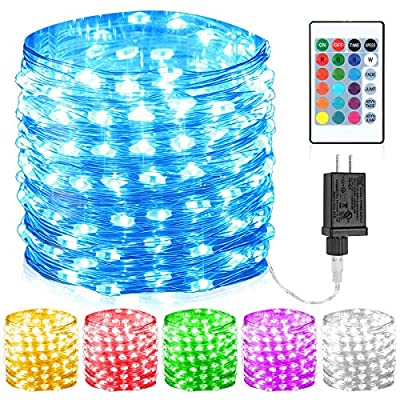 GDEALER 100 Led 16 Colors Change String Lights
