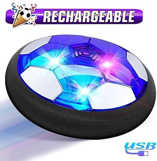 Womdee Juego de balón de fútbol con 2 porterías para niños, con ...