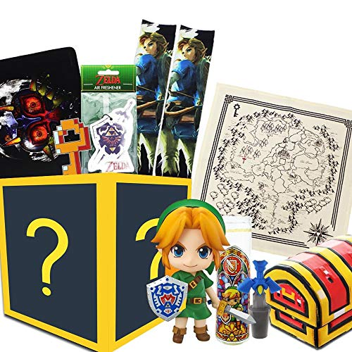 Toynk Nintendo Collectibles Legend of Zelda Gift Box | Zelda Figure and More