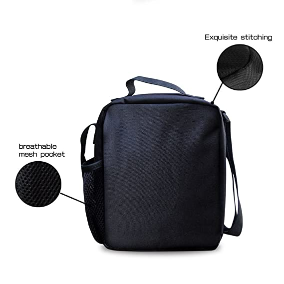Amazon.com | chaqlin Horse Book Bag Backpack Lunch Bag ...