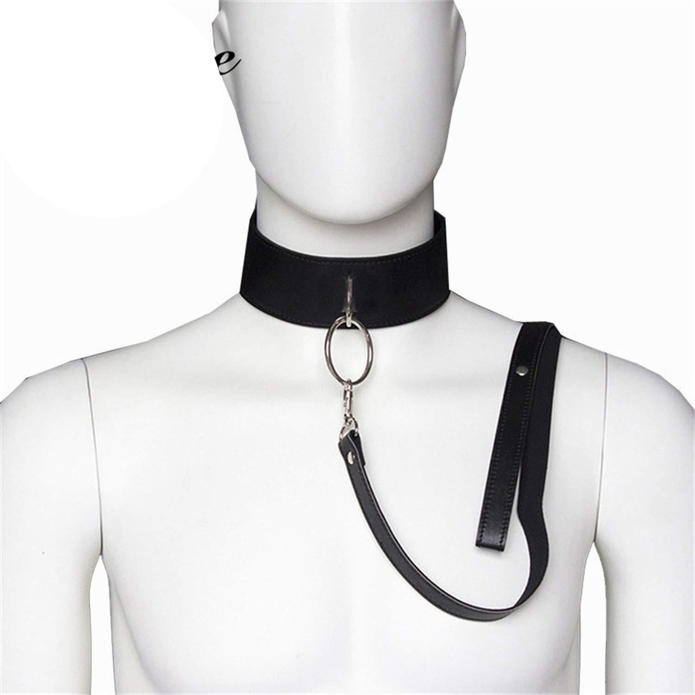 Amazon com : QFRHR Tshirt BDSM Sexs SLE Bondage Collar and