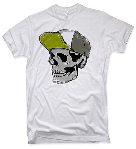 NG articlezz Skull Cap T-Shirt, Totenkopf, Oldschool, Verschiedene Farben,  Gr. S - XXL: Amazon.de: Bekleidung
