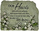 Carson Home Accents Peaceful Reflections Garden Marker, 8.25-Inch High, Hearts
