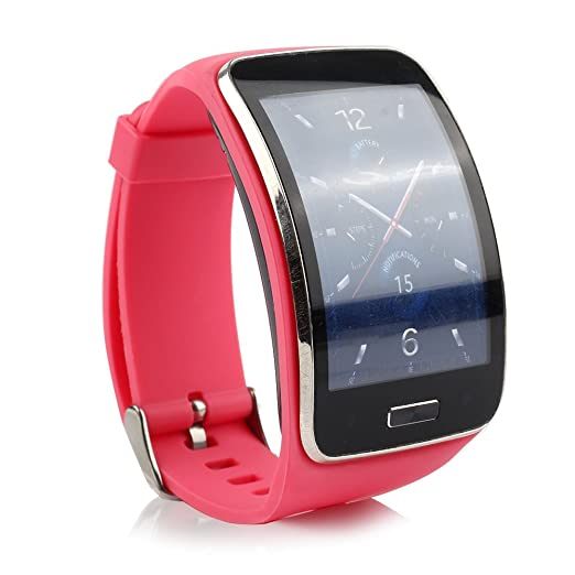 Smartwatch Ensultd Samsung Galaxy Gear R750, correa TPU, bandas de ...