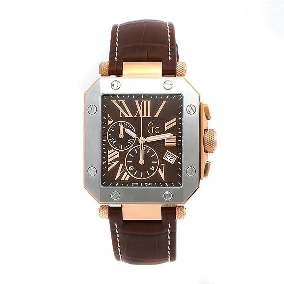 Gc I50001G1 - Reloj de pulsera hombre, piel, color marrón