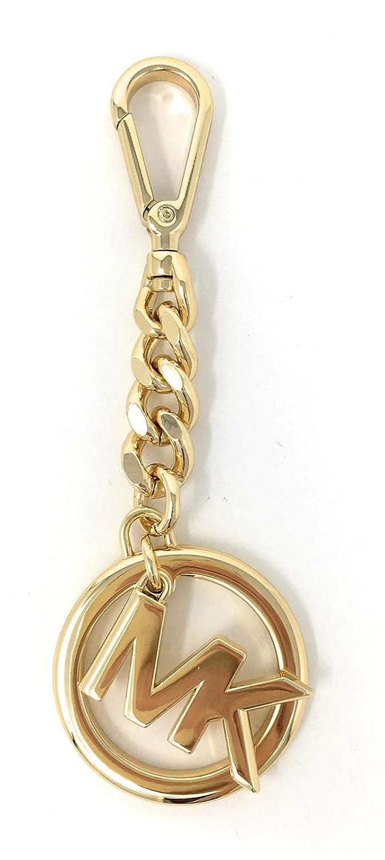 92fb05ac0b3d Amazon.com  Michael Kors Womens Key Fob Keyring Keychain Logo Gold (Gold)   Clothing