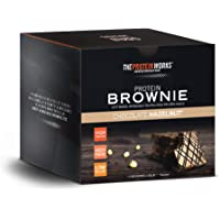 The Protein Works Protein Brownies, Chocolate Hazelnut, Box of 12