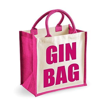 Mediano Bolsa De Yute Ginebra Bag Rosa Bag Día De La Madre ...