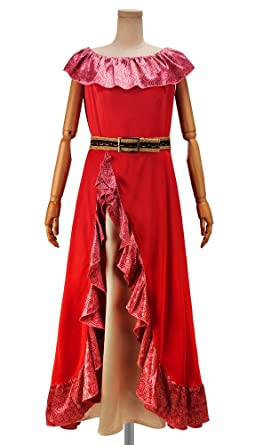 Amazon Com Cosonsen Elena Of Avalor Elena Cosplay Costume Halloween