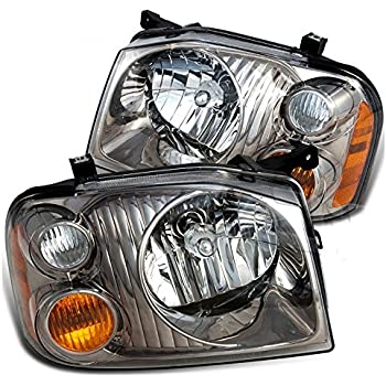 Holiday Rambler Admiral 2008-2011 RV Motorhome Pair Left /& Right Replacement Headlights Head Lights Front Lamps