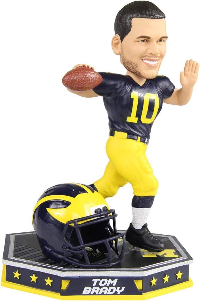 Tom Brady Michigan Removable Helmet Bobblehead by Foco