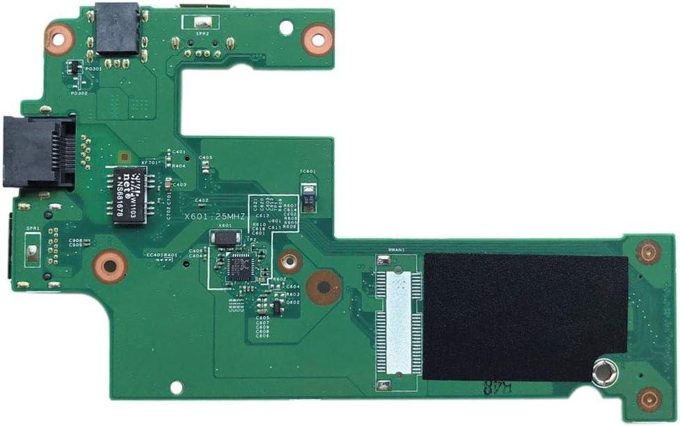 MOBILEACCESSORIES TENGLIN USB Charger Board DC Jack Board LAN Board DG15 IO Power Board 09697-1 for Dell Inspiron 15R N5010