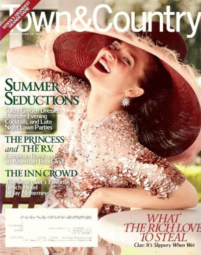 Town & Country Magazine (August, 2011) (Evening Dress 2011)