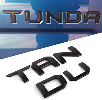 TOYOTA TAILGATE  Vinyl Decal Sticker Emblem Logo Graphic BLUE Lettering Vehicles