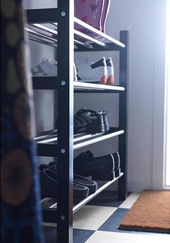 Ikea Tjusig Home Decor - Zapatero para decoración, color negro