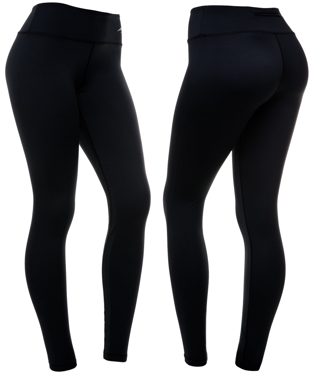 e3403ec5c504 Amazon.com : CompressionZ High Waisted Women's Leggings - Smart, Flexible  Compression for Yoga, Running, Fitness & Everyday Wear : Sports & Outdoors