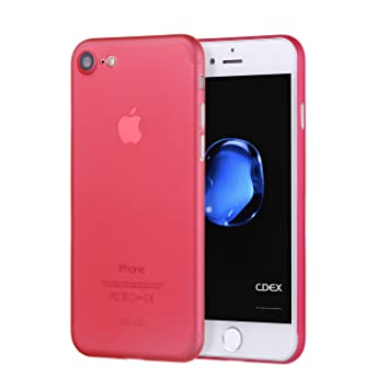 coque iphone 7 rouge matte