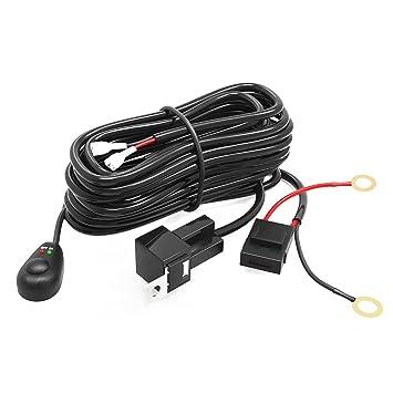Amazon.com: LED Light Bar YITAMOTOR Offroad Driving Light Bar Wiring