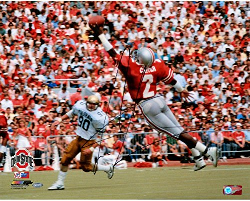 Cris Carter Signed One Handed Catch 16x20 Photo (Getty#109827359) (Cris Photograph Carter)