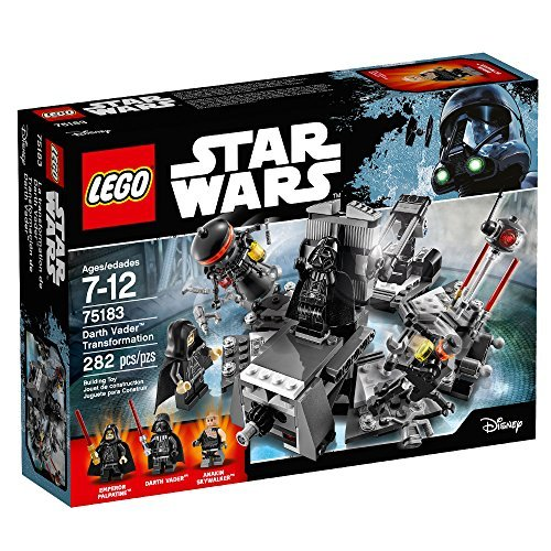 (LEGO Star Wars Darth Vader Transformation 75183 Building)