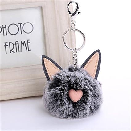 Gotian - Llavero con diseño de orejas de gato (8 cm): Amazon ...