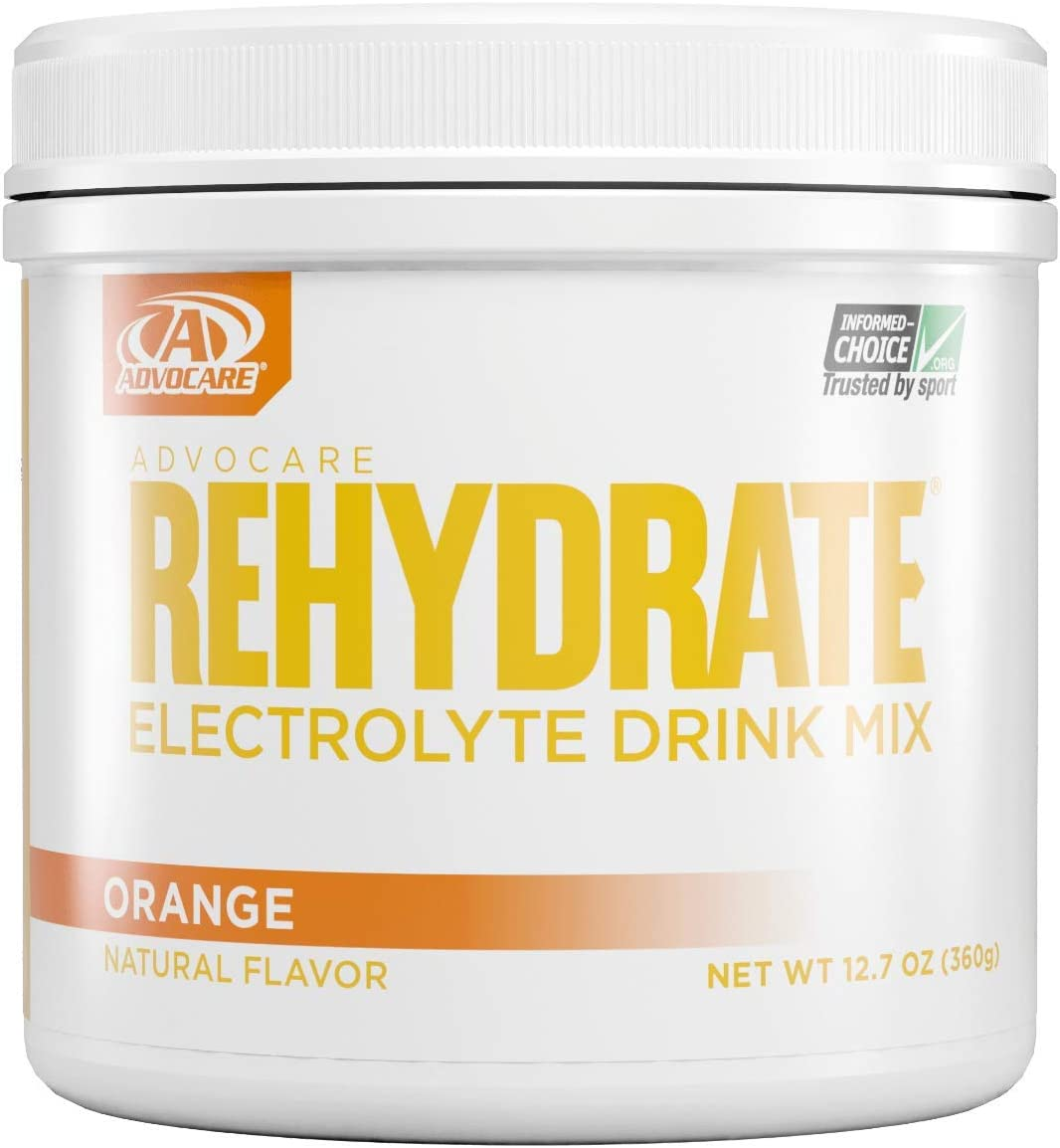 Advocare Rehydrate Electrolyte Replacement Drink Mix Orange12.7 oz