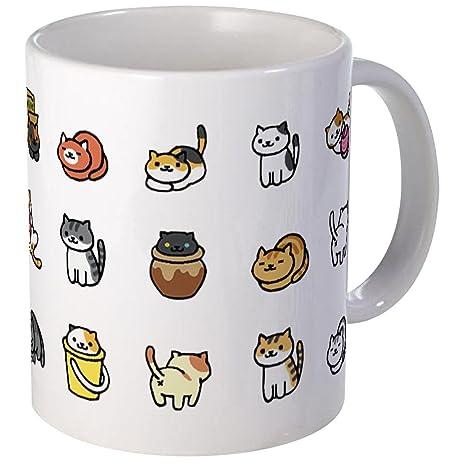 cafepress neko atsume mugs unique coffee mug coffee cup