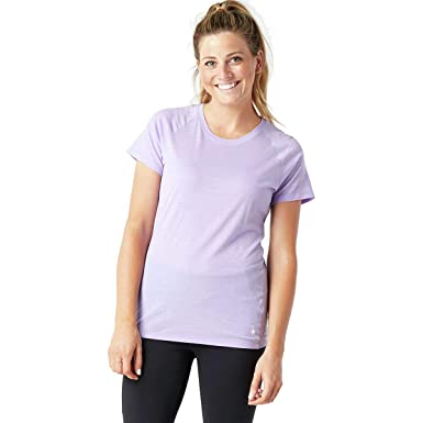 691cd5aa SmartWool Women's Merino 150 Baselayer Pattern Short Sleeve Cascade Purple  X-Small