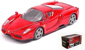 Burago Model Kompatibel Mit Ferrari Enzo Red 1 43 Bu31101r Amazon De Spielzeug