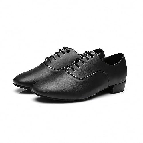 MQ Zapatillas de Danza Para Hombre Negro Negro, Color Negro, Talla 41 EU: Amazon.es: Zapatos y complementos