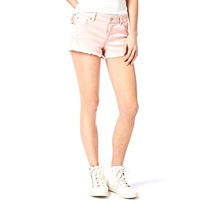 Celebrity Pink Juniors' Colored Cutoff Denim Shorts (Kilt Lavish Pink, 9): Clothing