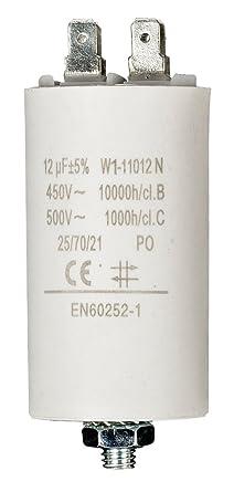 Fixapart - Cebador 12.0Uf / 450 V + Tierra: Amazon.es: Electrónica