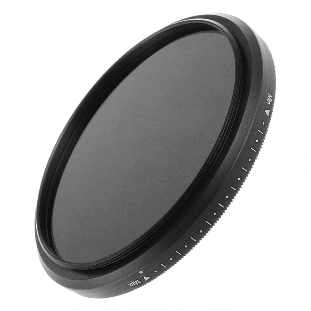 Runshuangyu Fotga 40.5mm ND Filter, Slim Fader Variable Adjustable ND2 to ND400 Neutral Density Filter for Camera Lens Photography, Optical Glass by Runshuangyu