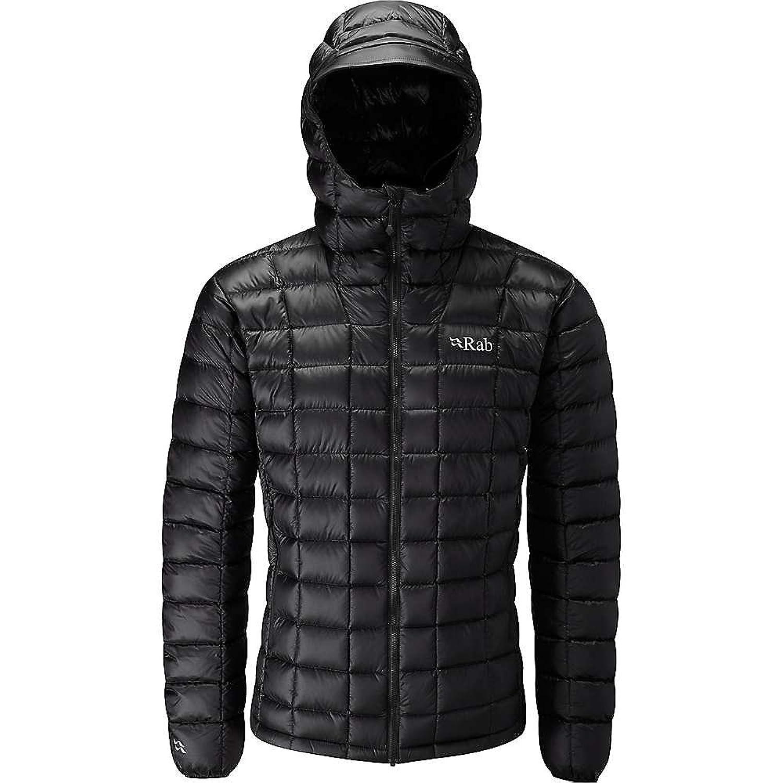 ラブ アウター ジャケットブルゾン Rab Men's Continuum Jacket Black / Bl 2dy [並行輸入品] B079F1M5NQ XL