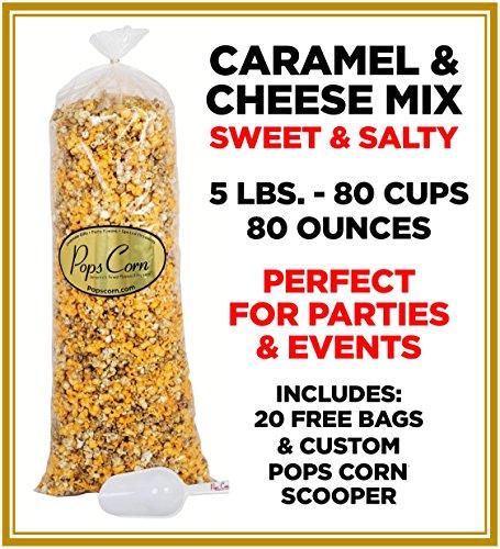 Popcorn Mix - Gourmet Caramel Popcorn & Cheese Popcorn Mix-Sweet & Salty-Chicago Mix-