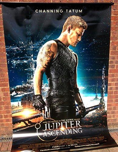 Cinema Banner Jupiter Ascending 2015 Caine Wise Mila Kunis Channing Tatum Amazon Co Uk Kitchen Home