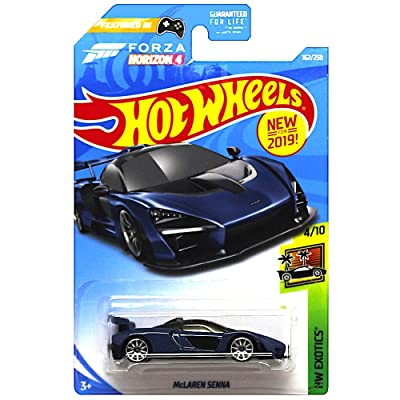 Hot Wheels McLaren Senna HW Exotics Diecast Vehicle 1:64 Scale: Toys & Games