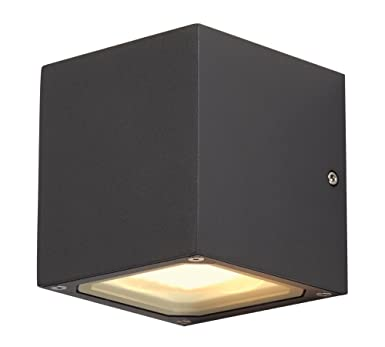 Slv 232535 sitra cube wall light anthrazit amazon garden slv 232535 sitra cube wall light anthrazit aloadofball Image collections